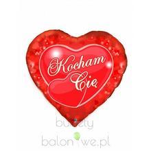 Balon foliowy serce - Kocham Cię