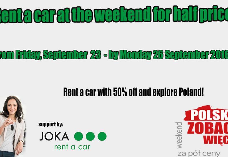 promocje na weekend - JOKA Wynajem Samochodów zdjęcie 2