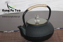 Żeliwny Czajnik do parzenie herbaty Gold
