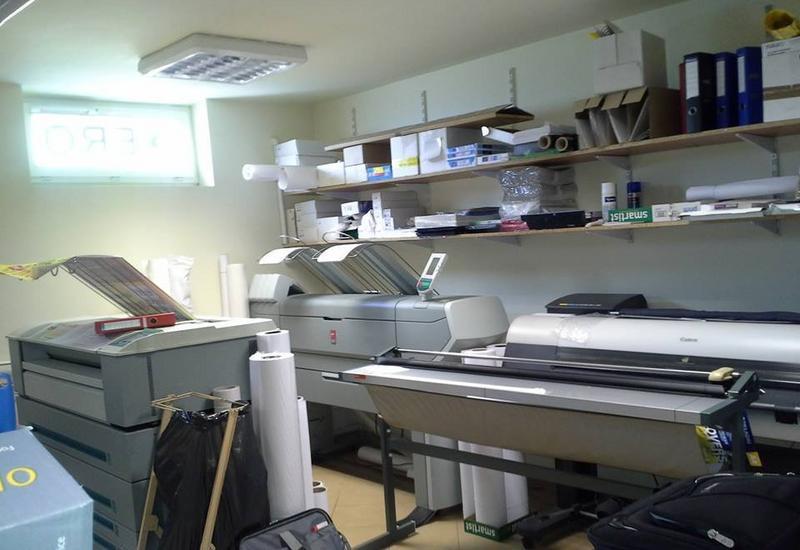 Ksero, drukarnia