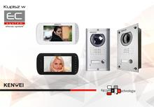 Zestaw wideodomofonowy Kenwei z monitorem KW-703