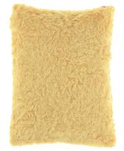 Futrzana poduszka dekoracyjna ASTER beżowy 40x50 cm