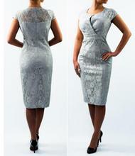 Sukienka Adria jasnoszara