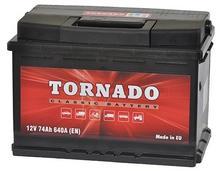 Akumulator Tornado 74Ah 640A