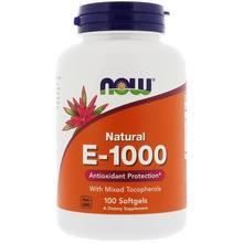 WITAMINA E naturalna 1000 iu 100 kapsułek