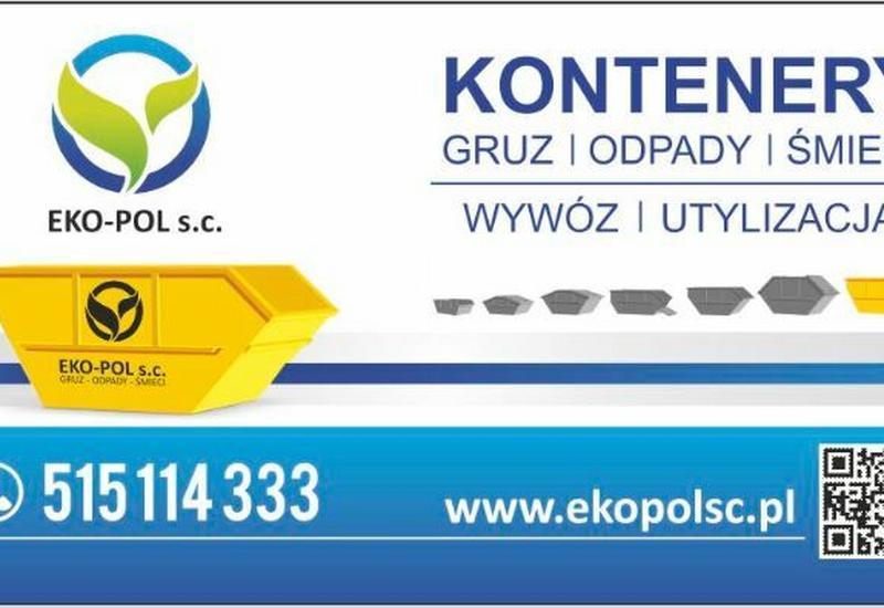 kontenery na gruz - Eko-Pol Monika Lisowska, ... zdjęcie 1