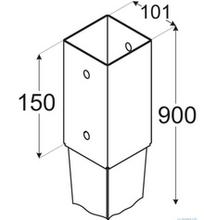 PSG 100 / 101x900x150 /