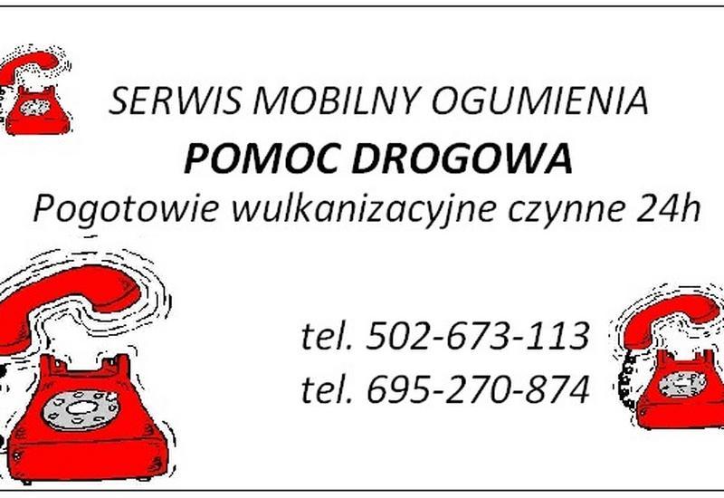 Serwis mobilny opony, wulkanizacja 24h tir, SOS autostrada