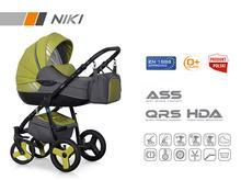 Wózek wielofunkcyjny Riko NIKI (Pistachio)