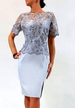 Sukienka Ewelina Szara