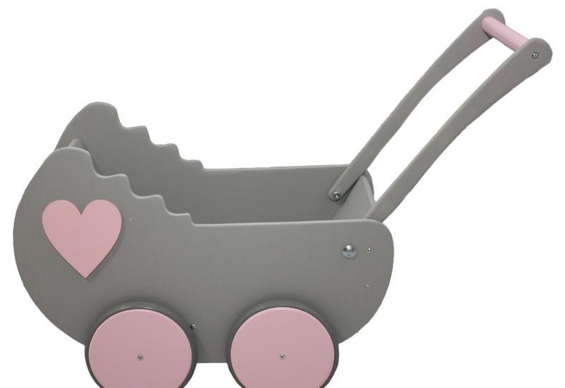 drewniany wózek dla lalek - Toys Studio zdjęcie 6