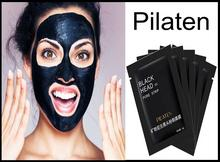 Pilaten Suction Black Mask czarna maska 10x6g