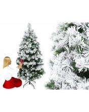 Sztuczna Choinka Ośnieżona Biała 180cm