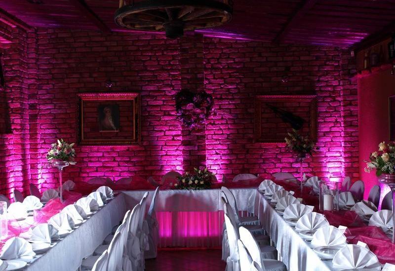 oświetlanie wesel - Uplight. Dekoracje światł... zdjęcie 3