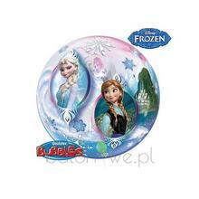 Balon Bubble - Frozen napełniony helem