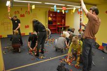 Imprezy firmowe z klockami LEGO w Krakowie