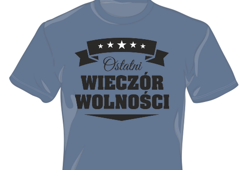pomysł na koszulkę z nadrukiem - MG advertising Marcin Goz... zdjęcie 3
