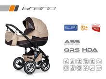 Wózek wielofunkcyjny Riko Brano (Mocca)