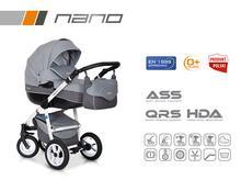 Wózek wielofunkcyjny Riko Nano (Grey fox)