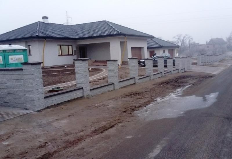 ogrodzenia łupane - Karbud Janusz Kaczmarek zdjęcie 8