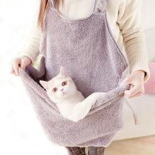 Fartuch - nosidełko - śpiwór dla kota