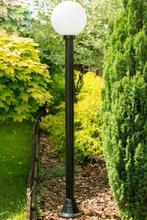 Lampy ogrodowe wys. 2.1 m, klosz 30 cm