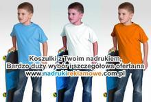 T-shirty dziecięcy.