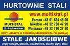 Multistal & Lohmann Sp. z o.o. Hurtownie Stali Jakościowych - stal, pręty, blacha