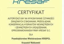 remonty gaśnic - P.W. KRISPOL KRZYSZTOF WA... zdjęcie 5