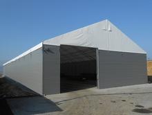Hale namiotowe - na bazie konstrukcji stalowej