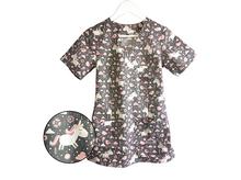 Bluza medyczna damska w jednorożce 100% bawełna
