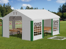 4x6m Namiot Ogrodowy Imprezowy Catering Summer PVC
