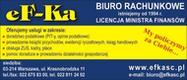 Biuro rachunkowe EF-KA Bogumiła Romanowicz, Ewa Marszał - Warszawa, Krasnobrodzka 11
