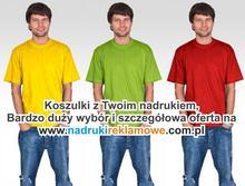 T-shirt z Twoim nadrukiem.