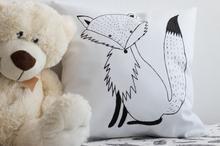 Poduszka w stylu skandynawskim Lis