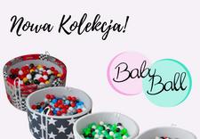 baseniki z piłeczkami dla dzieci - BabyBall zdjęcie 1