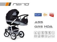 Wózek wielofunkcyjny Riko Nano (Carbon)