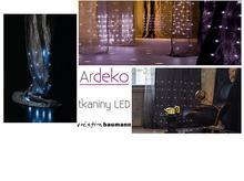 Tkaniny z diodami LED