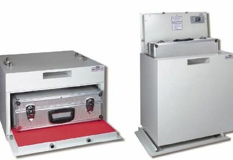 kasy pancerne - transferowe - Trezor Mechaniczen System... zdjęcie 2