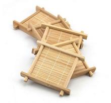 Bambusowa podstawka pod czarki i kubki