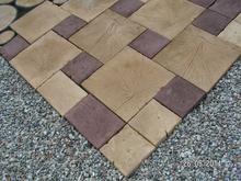 Architektura ogrodowa betonowe drewno