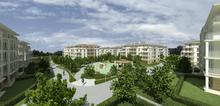 Widok na osiedle Villa Romanów