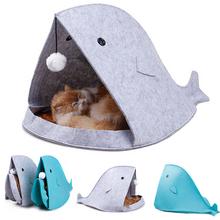Domek dla kota Wieloryb