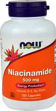 Nikotynamid - WITAMINA B-3 500 mg 100 kapsułek
