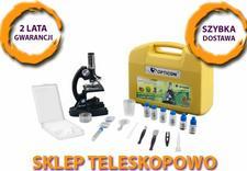 teleskop, mikroskop, lornetka