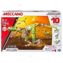 Meccano Core - MULTI zestaw 10 modeli - dinozaur