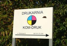 drukarnia - Drukarnia Kom-Druk. Druk ... zdjęcie 1
