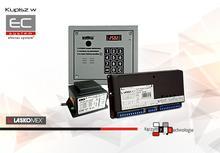 CD2503R-s/c - Cyfrowy zestaw domofonowy