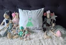 poduszki malowane - Maminoko - poduszki i akw... zdjęcie 12