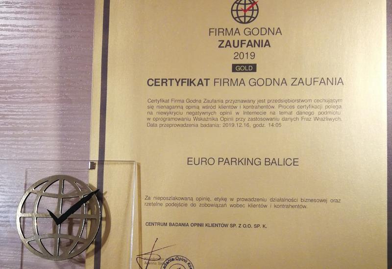 ochorna parking - EURO Parking BALICE zdjęcie 6